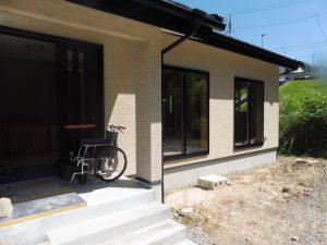 2017年8月27日「車椅子での生活に配慮した平屋住宅」完成見学会